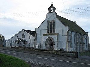 Maze Presbyterian Church and Hall. The Church ...
