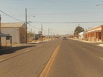 McCamey, Texas - A look at downtown McCamey