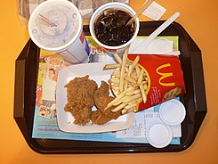 McDonald's Royal Pattaya meal 20110513.jpg