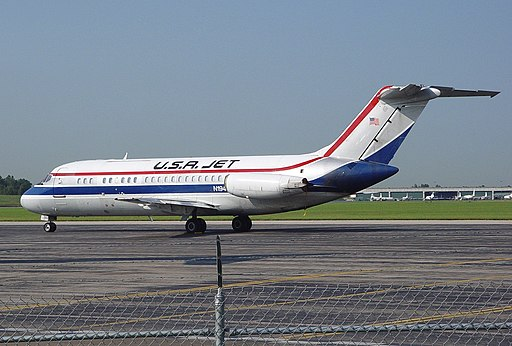 McDonnell Douglas DC-9-15(F), USA Jet Airlines AN0423517