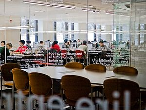 McGill University Library - Image: Mc Gill University Library Cybertheque