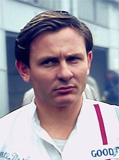 Bruce McLaren New Zealander racecar driver, designer and team owner