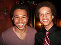 Me and Corbin Bleu After Godspell.jpg