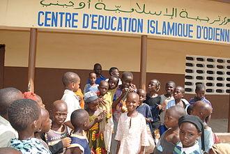 Islam in Ivory Coast - Image: Medersa Odienne