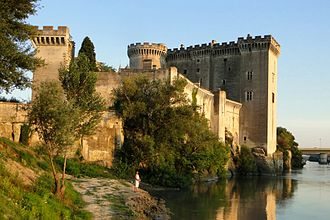 Tarascon - Medieval Сastle on the Rhône