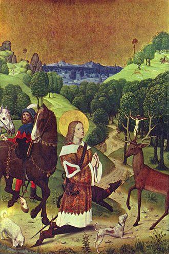 Four Holy Marshals - Image: Meister des Marienlebens von Werden 001