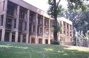 Niavaran - The Niavaran Building of the Institute for Research in Fundamental Sciences (IPM).