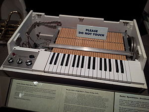 Strawberry Fields Forever - A 1960s-era Mellotron, similar to that used on the Beatles recording