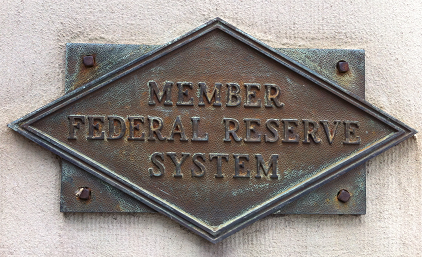 Member Federal Reserve System plaque