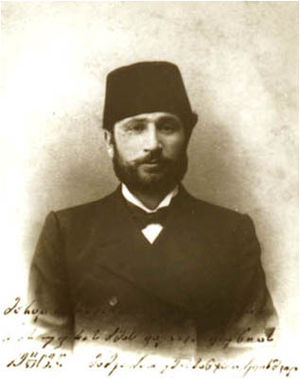 History of Adjara - Memed Abashidze, leader of the Adjarian Mejlis