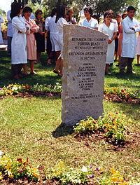 Memorial DDHH Chile 62 Hospital Sótero a Reinalda Pereira.jpg