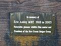 Memorial Plaque Alderhill Inclosure New Forest - geograph.org.uk - 219143.jpg