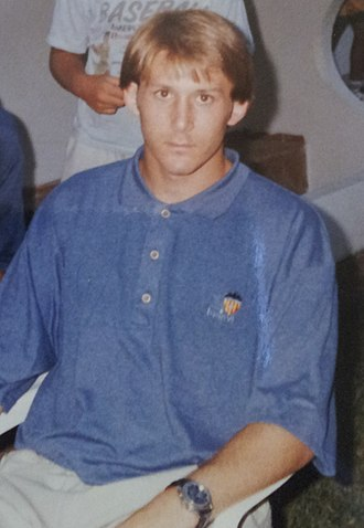 UEFA Club Football Awards - Gaizka Mendieta, who won this award twice in-a-row with Valencia.