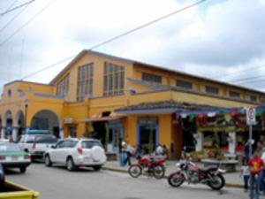 Coatepec, Veracruz - The main market of Coatepec