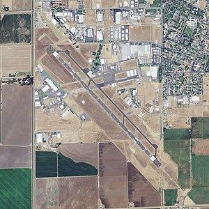Merced Regional Airport - NAIP Aerial Photograph 2009