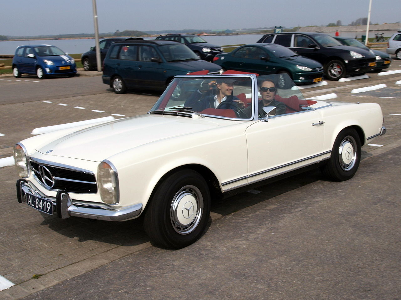 File Mercedes Benz 280 Sl Automatic 1969 Dutch Licence
