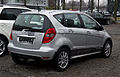 Mercedes-Benz A-Klasse E-CELL BlueEFFICIENCY (W 169, Facelift) – Heckansicht, 10. März 2012, Düsseldorf.jpg