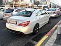 Mercedes CLA 180 in Carmel center, Haifa.jpg