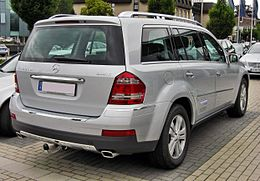 Mercedes GL 320 CDI 4Matic 20090620 rear.JPG