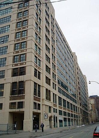Merchandise Building - Southeast side of the Merchandise Building