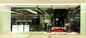 Meridian Audio - The Meridian Audio boutique in Bangkok, Thailand