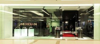 Meridian Audio - The Meridian Audio boutique in Bangkok, Thailand