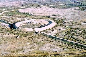 Merv - Aerial view of Merv