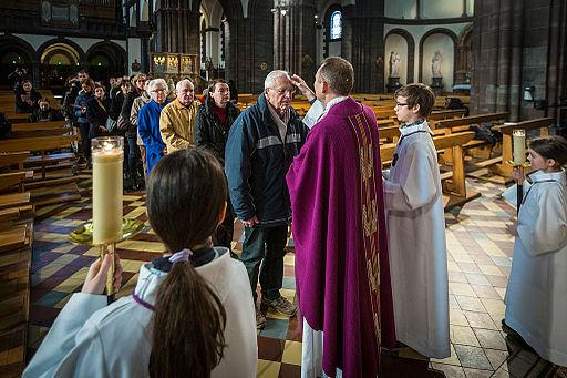 Messe des Cendres Saint-Pierre-le-Jeune Strasbourg 5 mars 2014 07