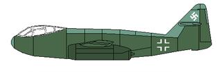 Messerschmitt P.1099 German fighter prototype