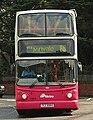 Metro (Belfast) bus 2965 (TCZ 9965) 2003 Volvo B7TL Transbus ALX400, 1 May 2009.jpg