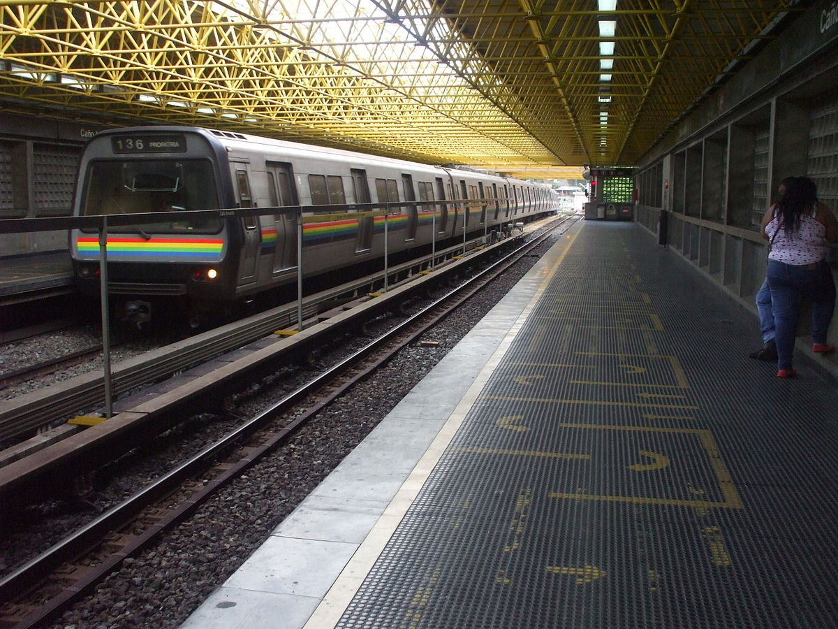 Metro de Caracas - Wikipedia, la enciclopedia libre