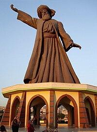 Mevlana Statue, Buca.jpg