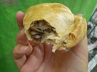 Paste (pasty) - Image: Mexico City pastie