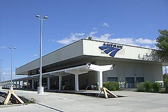 Miami Airport Station - Amtrak's previous Miami station, constructed in 1978