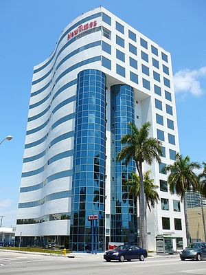 Edgewater (Miami) - The Miami New Times headquarters