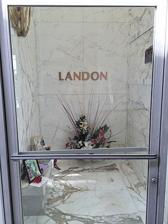 Michael Landon - Crypt of Michael Landon at Hillside Memorial Park
