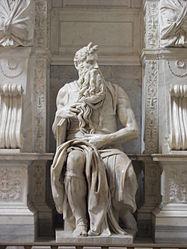 Michelangelo's Moses in San Pietro in Vincoli.jpg