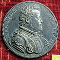 Michele mazzafirri, medaglia di ferdinando de' medici duca e premia virtutis (argento), 1588.JPG