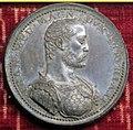 Michele mazzafirri, medaglia di francesco I de' medici (no verso, bronzo argentato).JPG