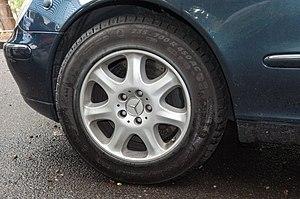 Michelin PAX System - Michelin PAX run-flat wheel