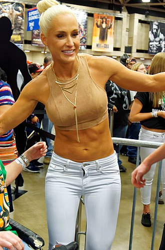 Michelle McCool - McCool in April 2016 at WrestleMania Axxess