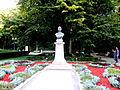 Mihai Eminescu's bust in Copou Garden 3.jpg