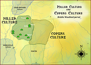 Hopewell tradition - Miller and Copena cultures