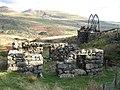 Mine buildings in Cwm Ciprwth - geograph.org.uk - 1060311.jpg