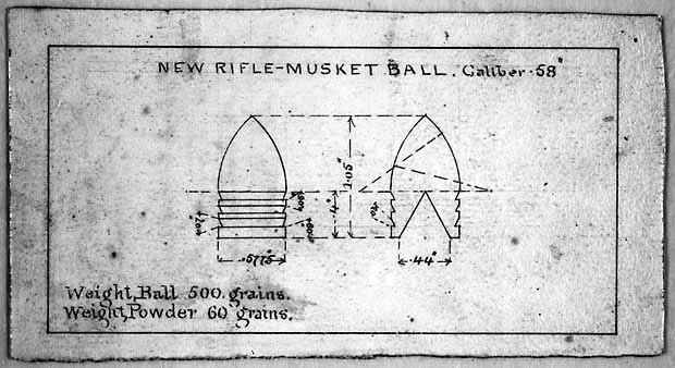 Minie ball design harpers ferry burton
