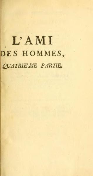 File:Mirabeau - L'Ami des hommes, ou Traité de la population, 1759, t4.djvu
