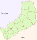 Misiones (Argentina), departments and capital.PNG