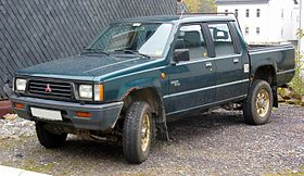 Mitsubishi L200 on 1991 montero 4x4