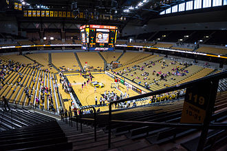 Mizzou Arena - Mizzou Arena from the Northwest side in 2014