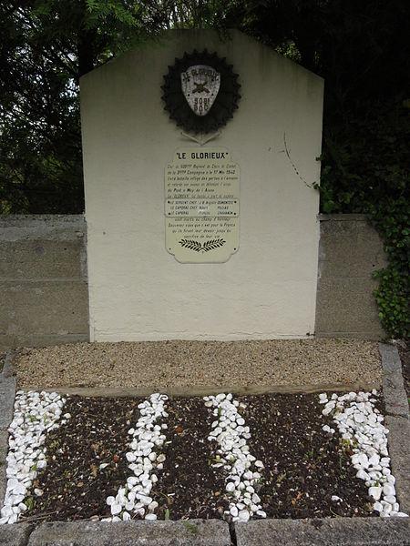 Moÿ-de-l'Aisne (Aisne) mémorial Le Glorieux